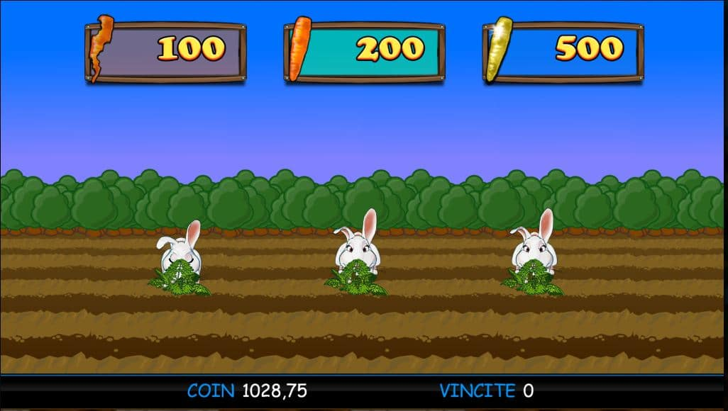 Gioco Bonus a tema slot Cash Bunny
