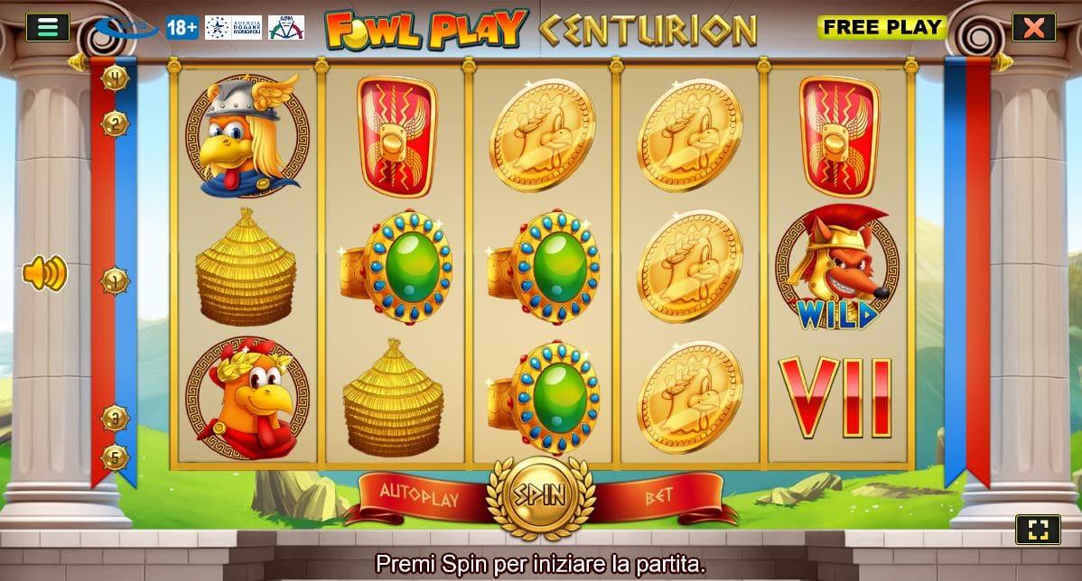 Fowl Play Centurion
