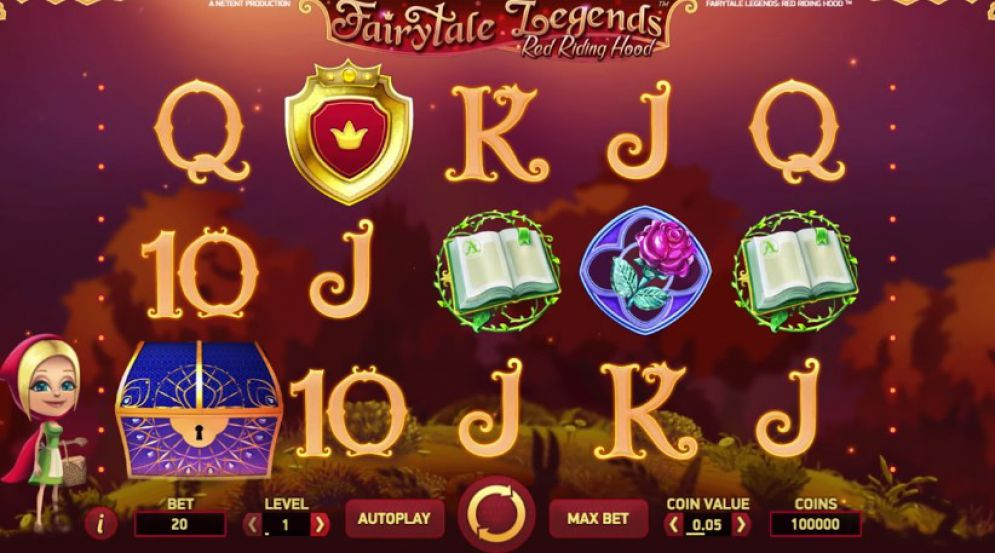 Slot Fairytale Legends: Red Riding Hood