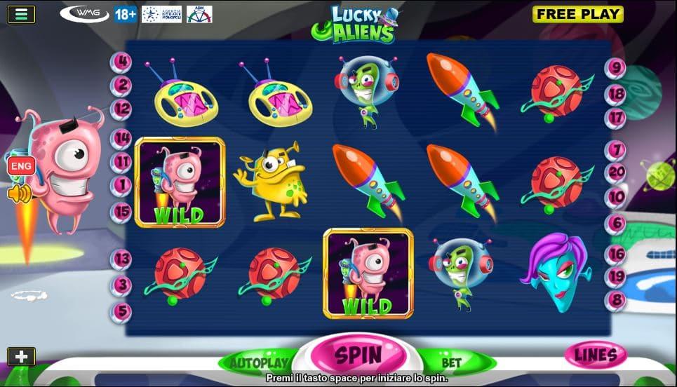 Slot Lucky Aliens