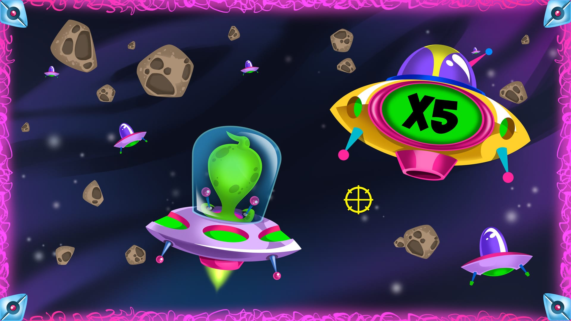 Bonus a tema Slot Lucky Aliens