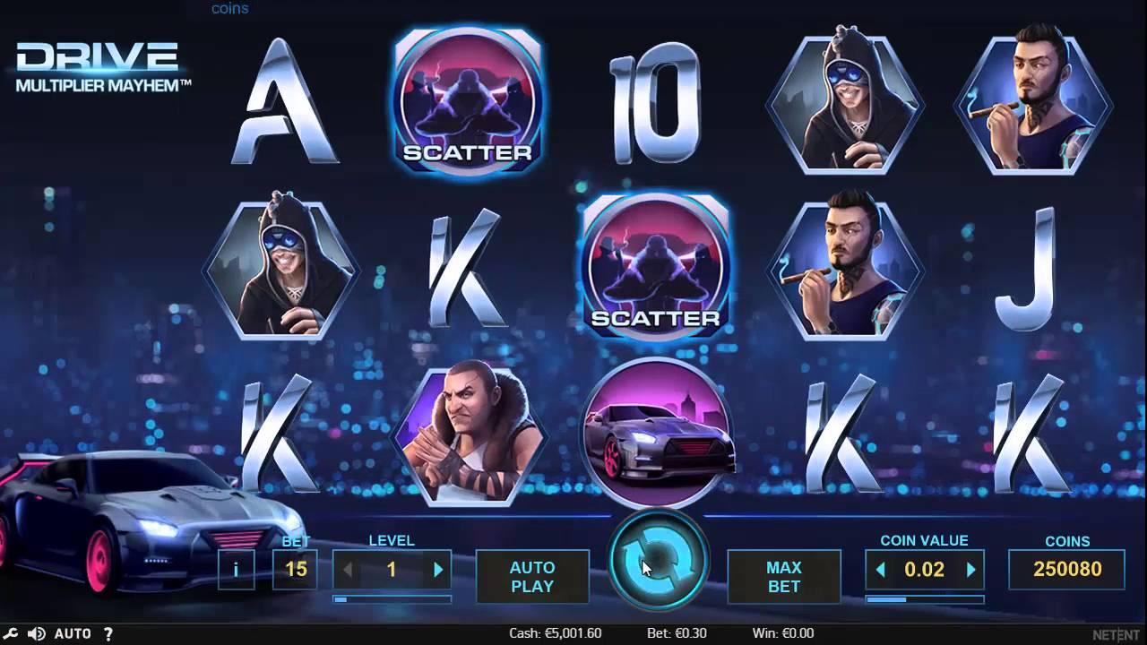 Slot Drive Multiplier Mayhem