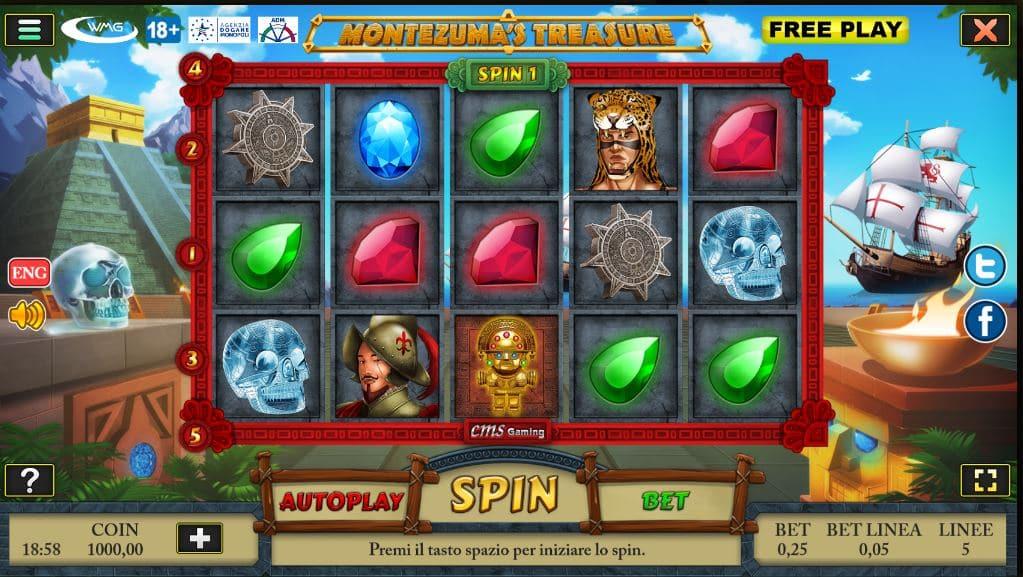 Slot Montezuma's Treasure