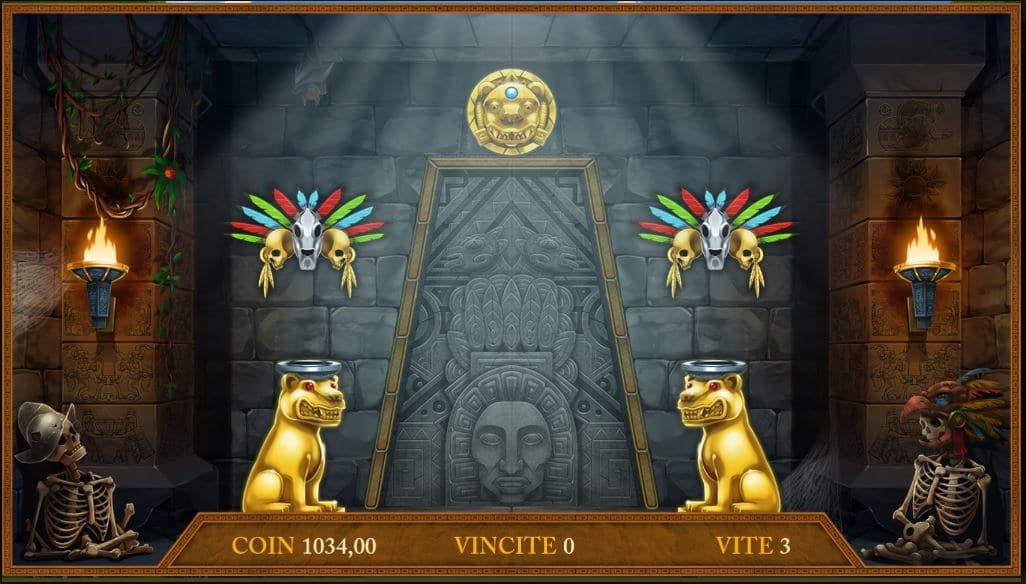 Bonus a tema Slot Montezuma Treasure