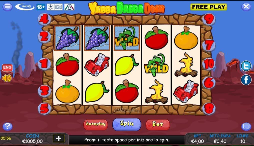 Slot Yabba Dabba Dosh