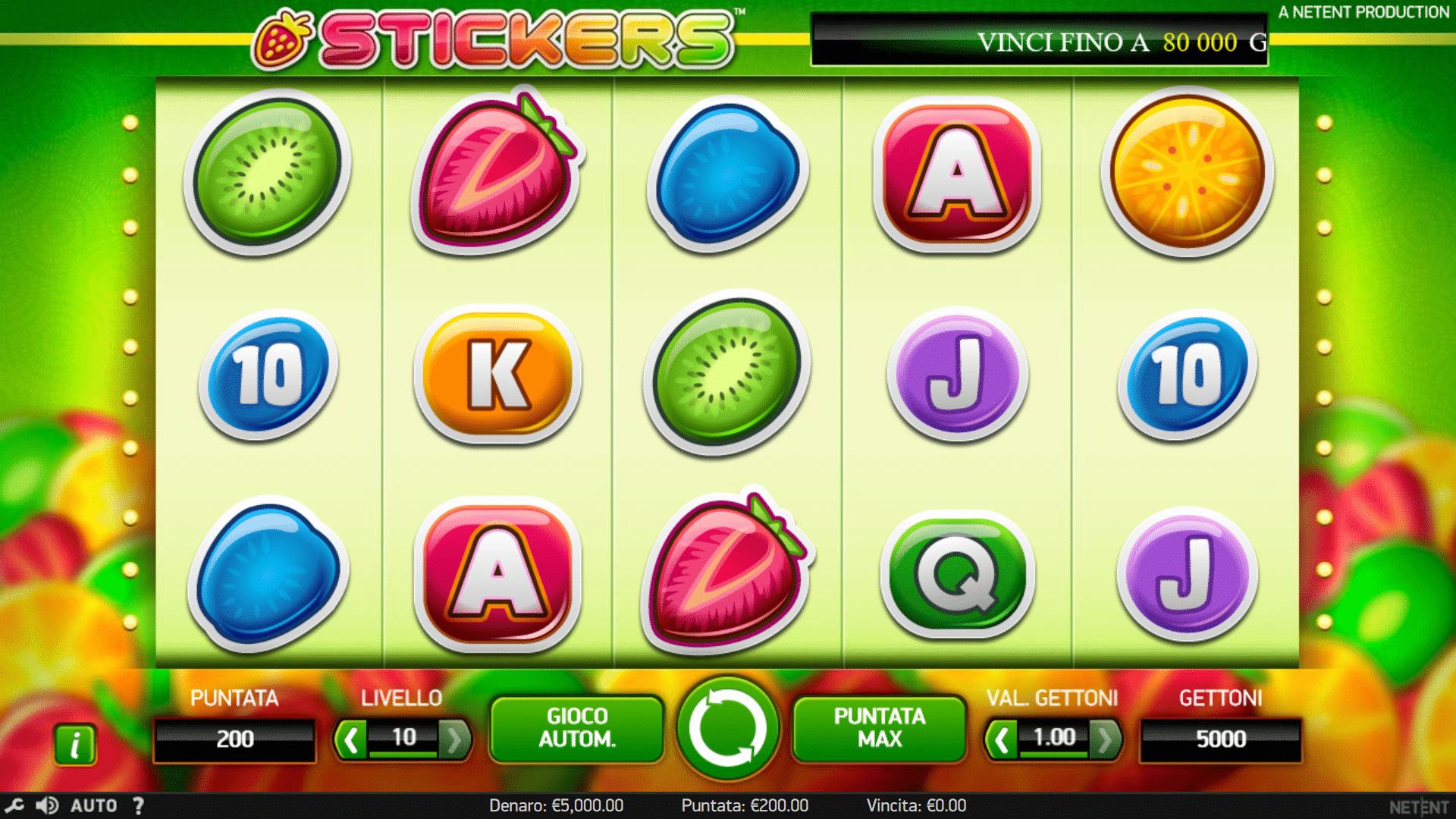 Slot Stickers