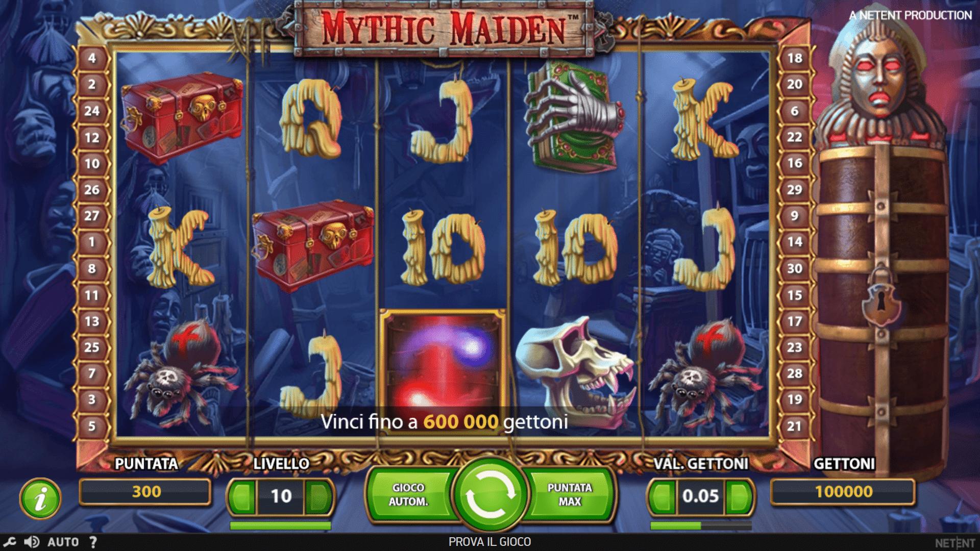 Slot Mythic Maiden
