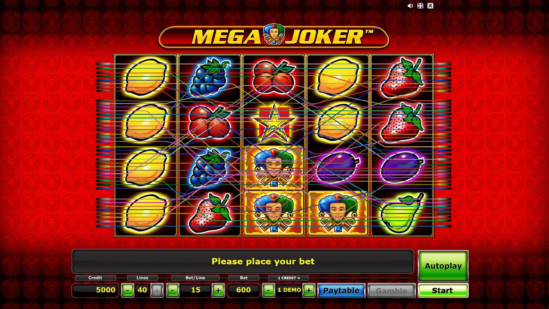 Slot Mega Joker