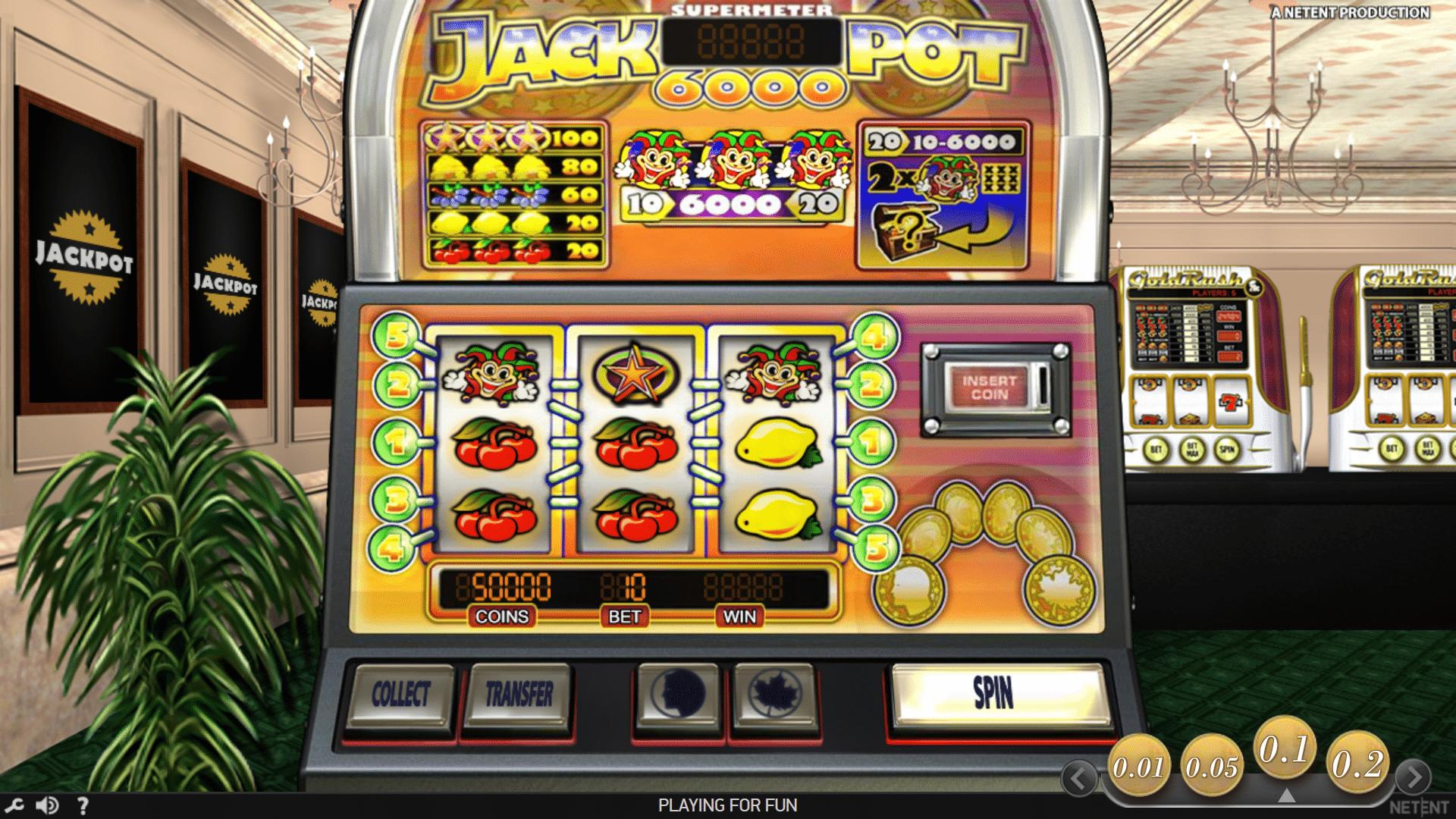 Slot Jackpot 6000
