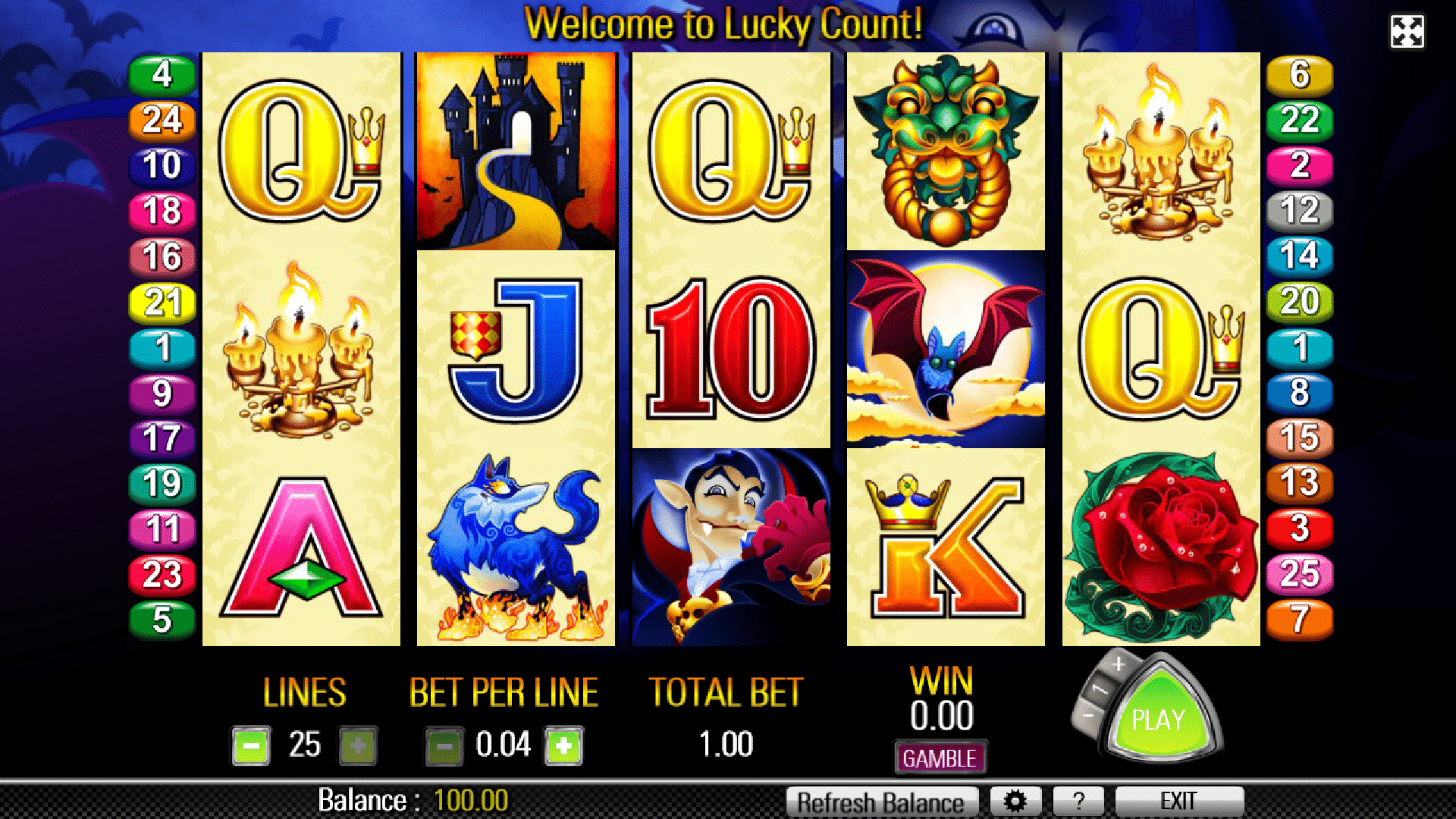 Slot Lucky Count