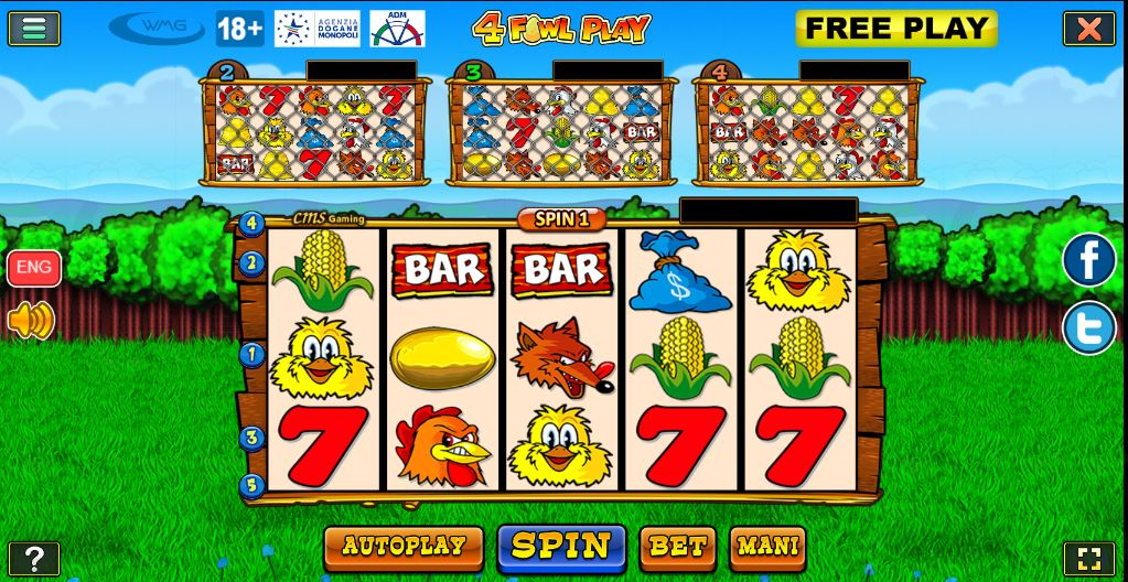 Slot 4 Fowl Play