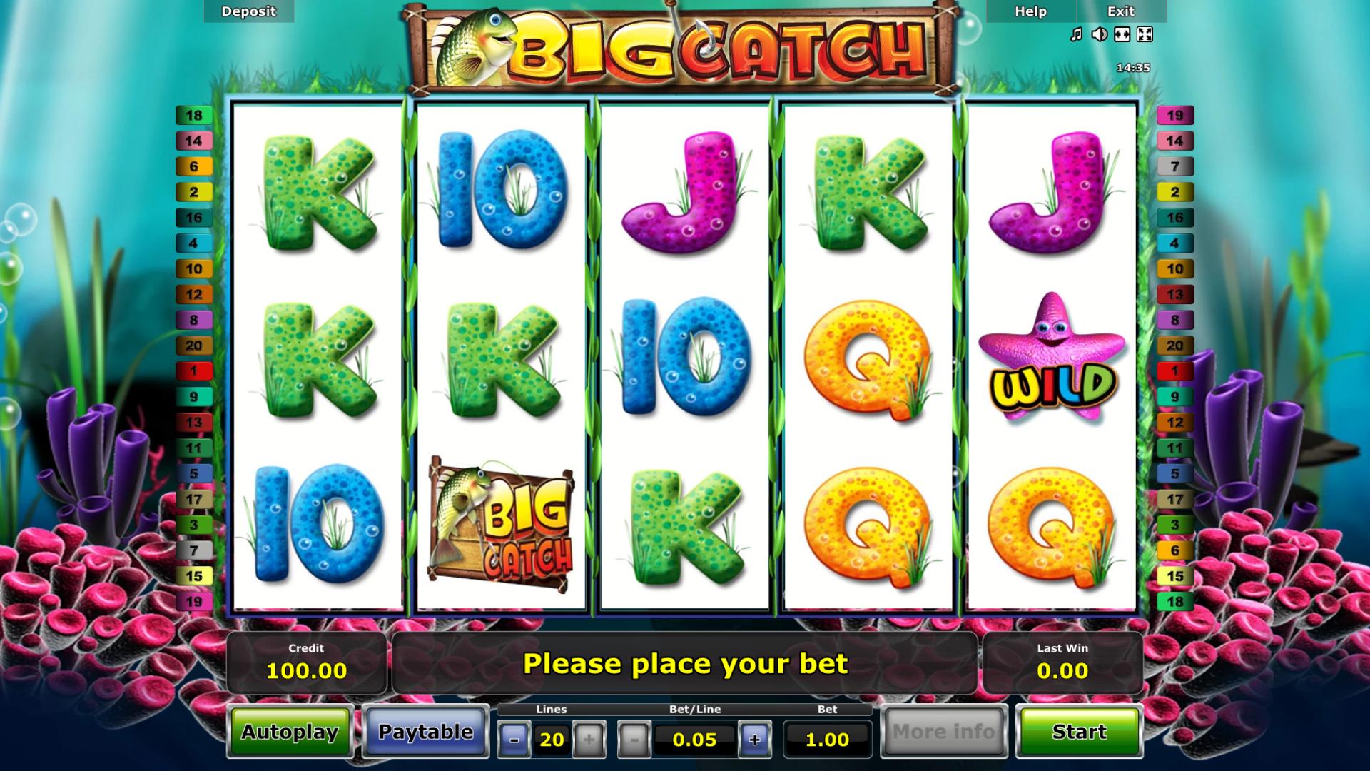 Slot Big Catch