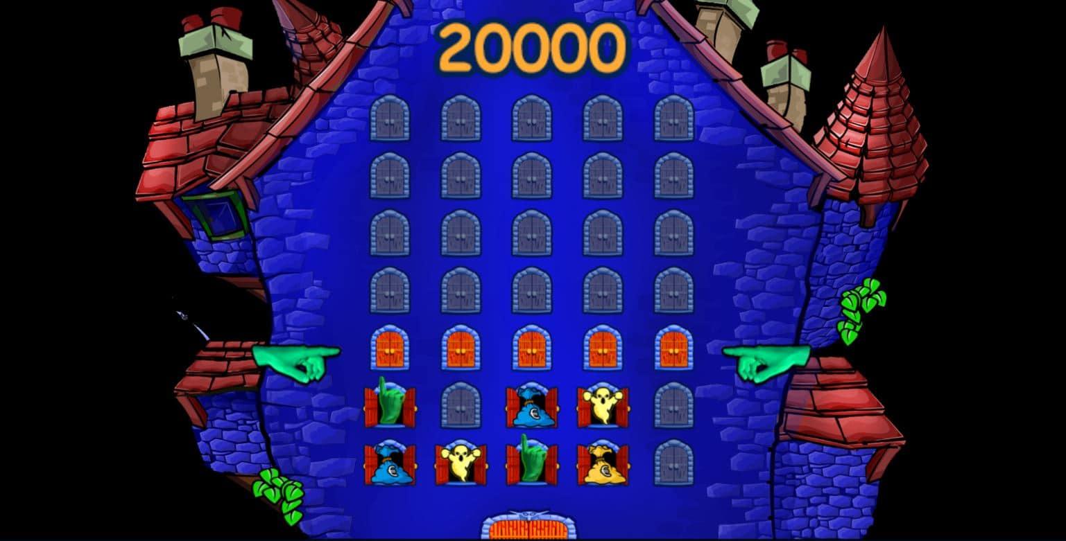 Bonus a tema slot Haunted House