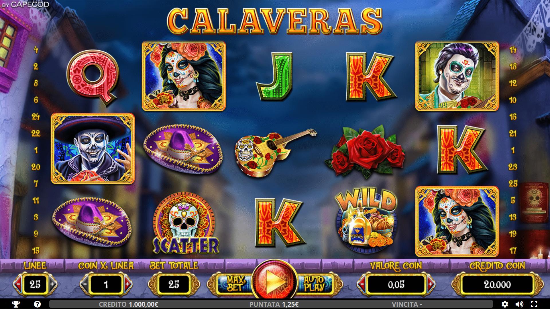 Slot Calaveras