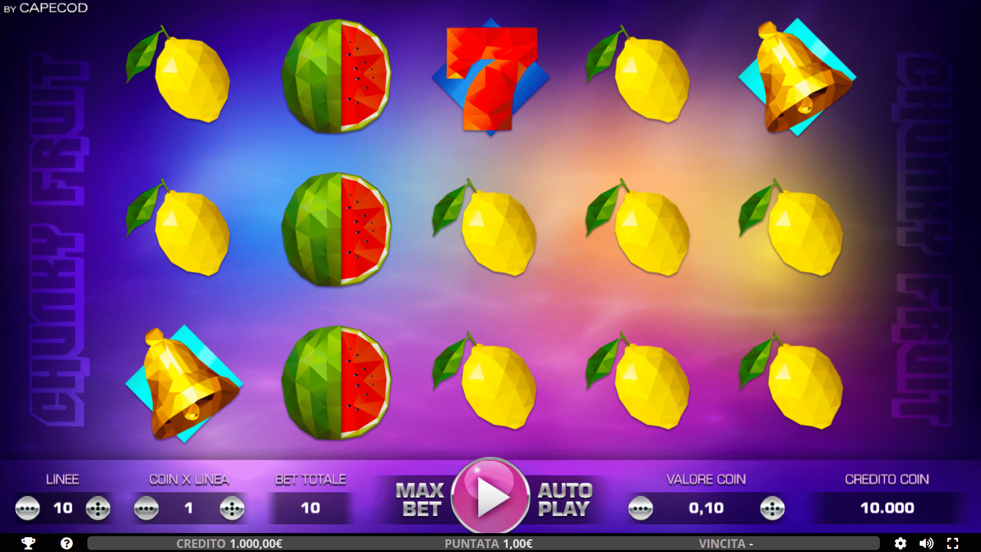 Slot Chunky Fruits