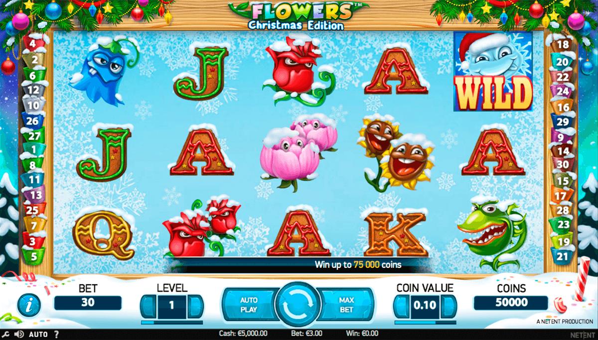 Slot Flowers Christmas Edition