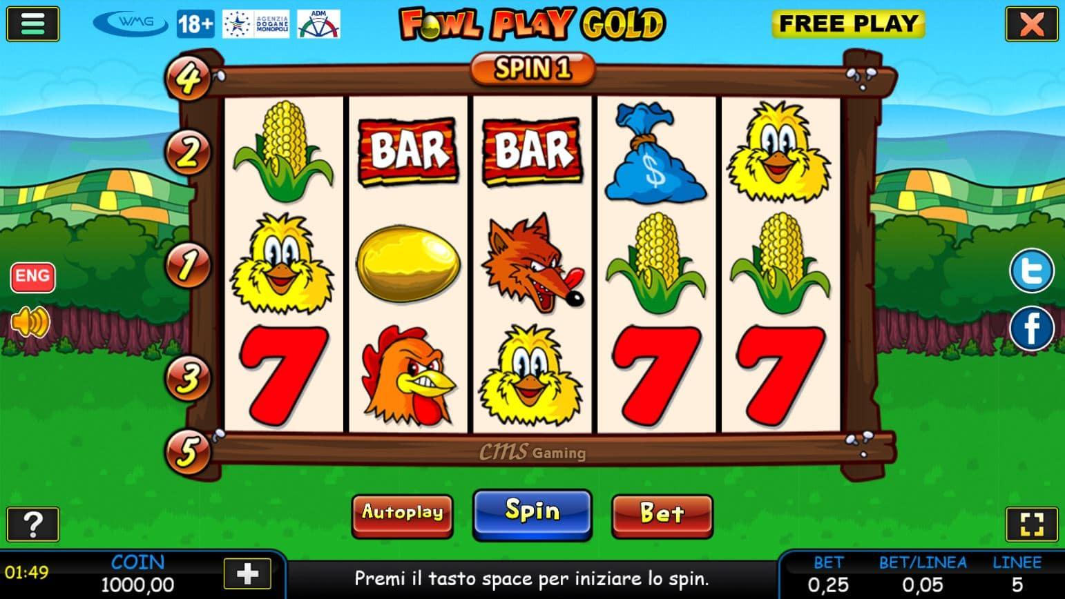 Slot Fowl Play Gold