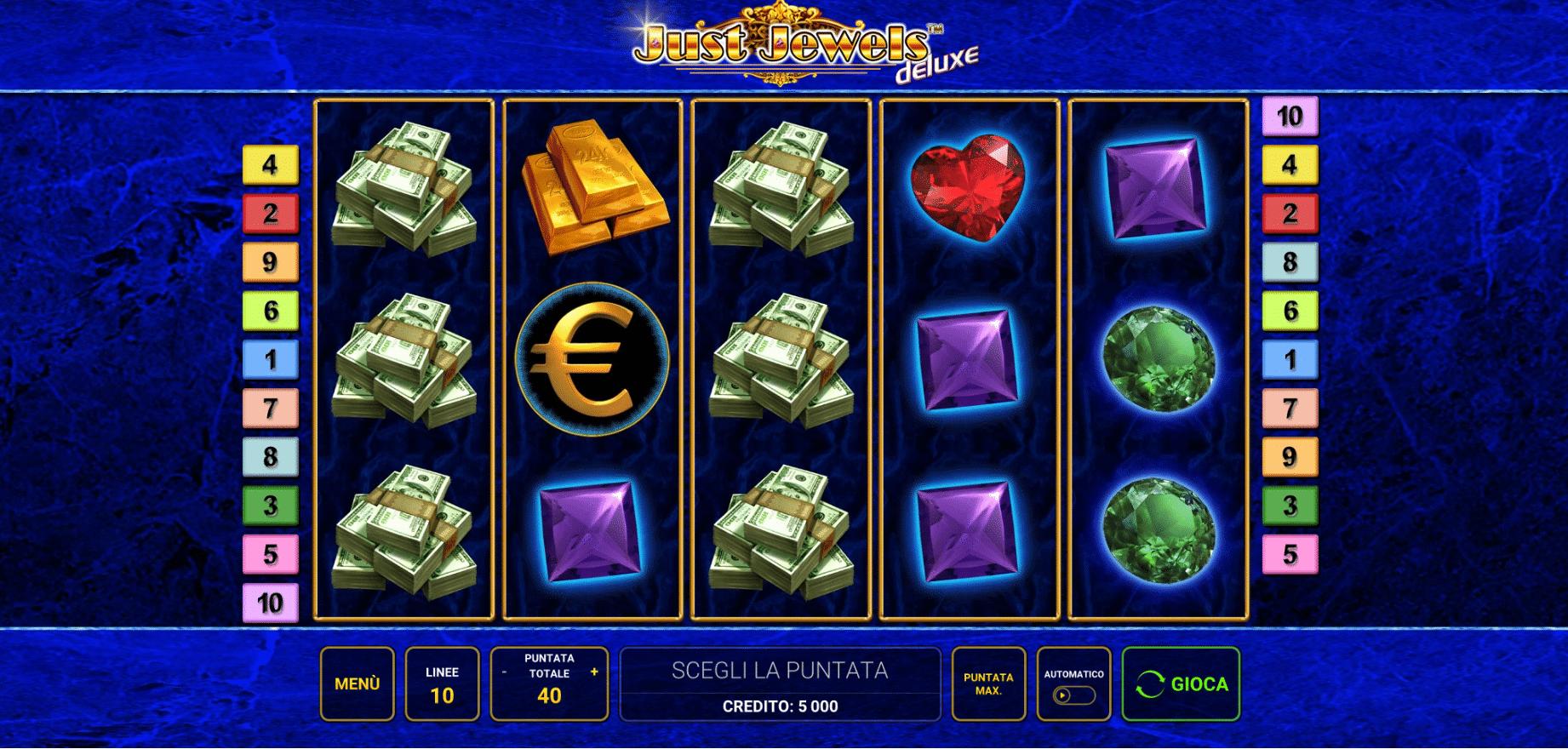 Slot Just Jewels Deluxe