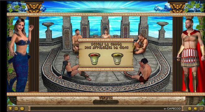 Bonus Maga Circe della slot online Ulisse