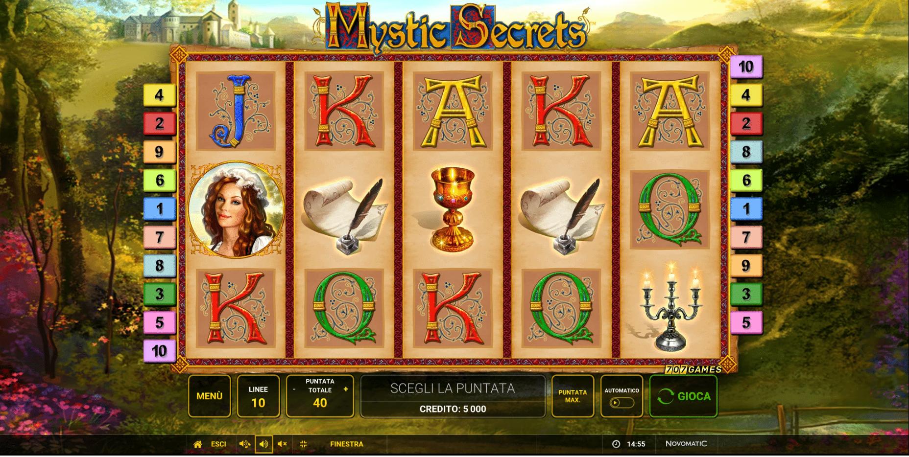 Slot Mystic Secrets