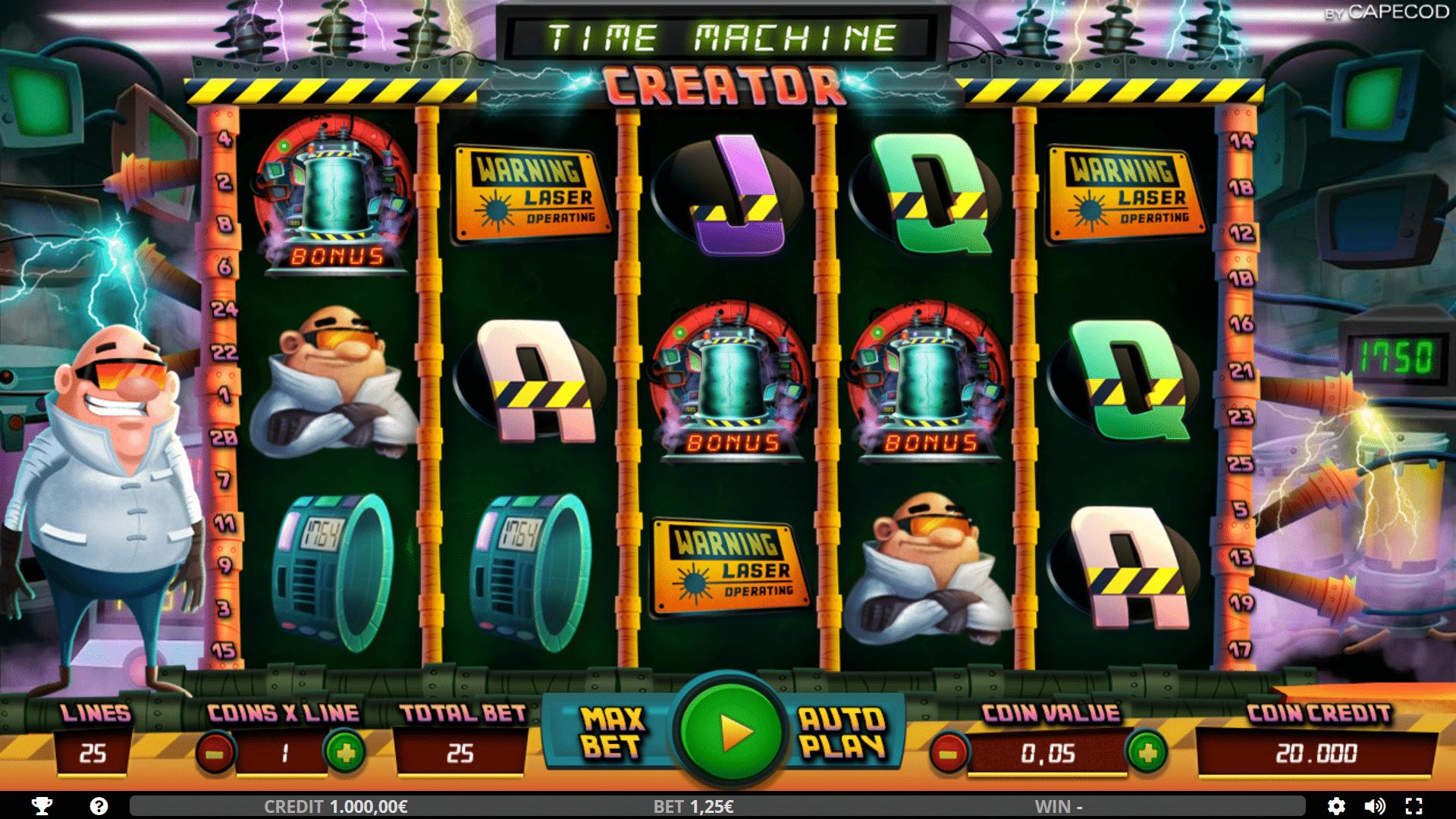 Slot Time Machine Creator