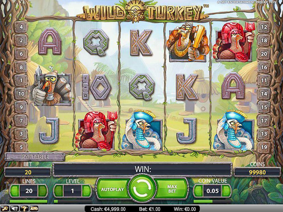 Slot Wild Turkey