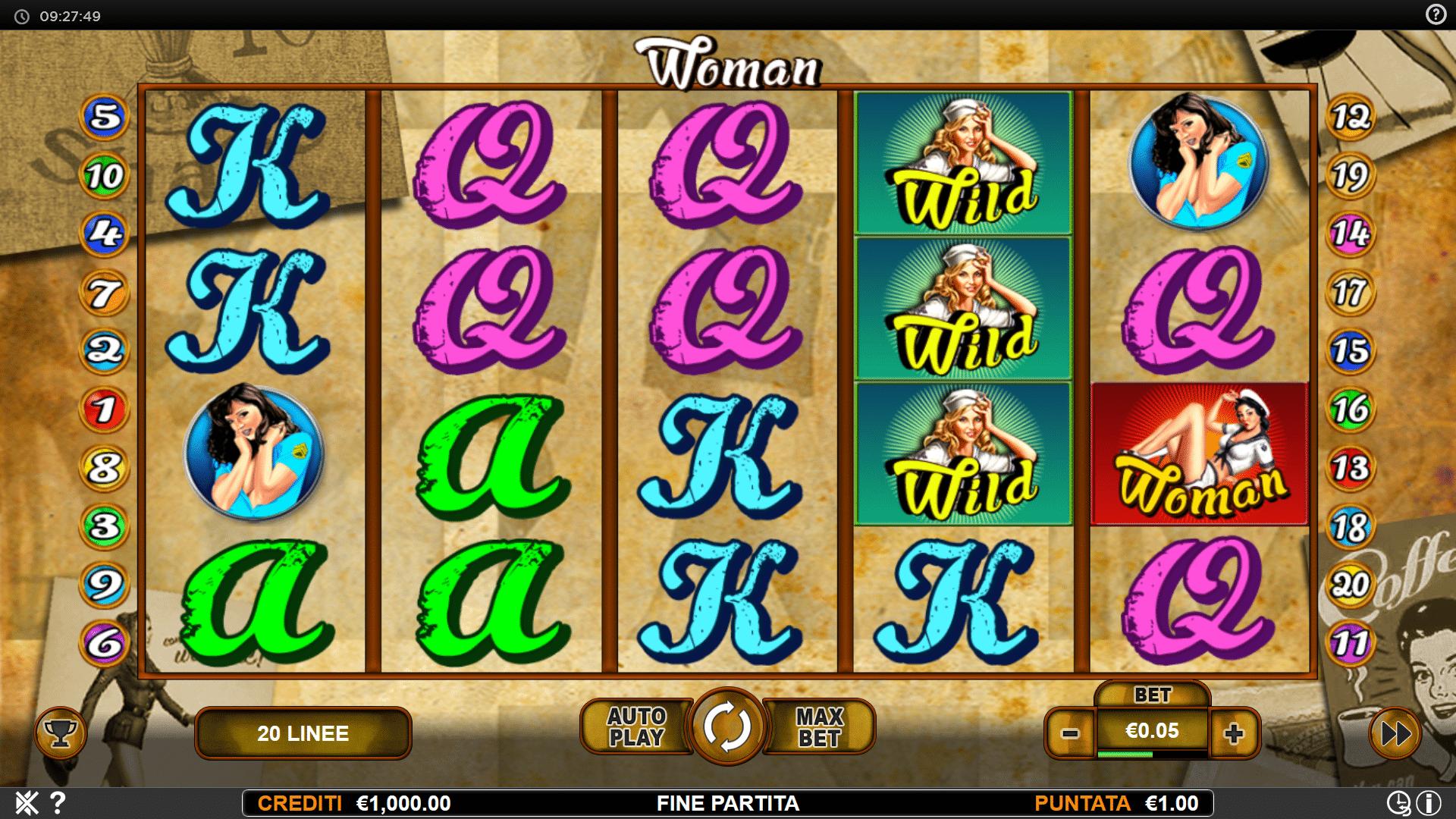 Slot Woman