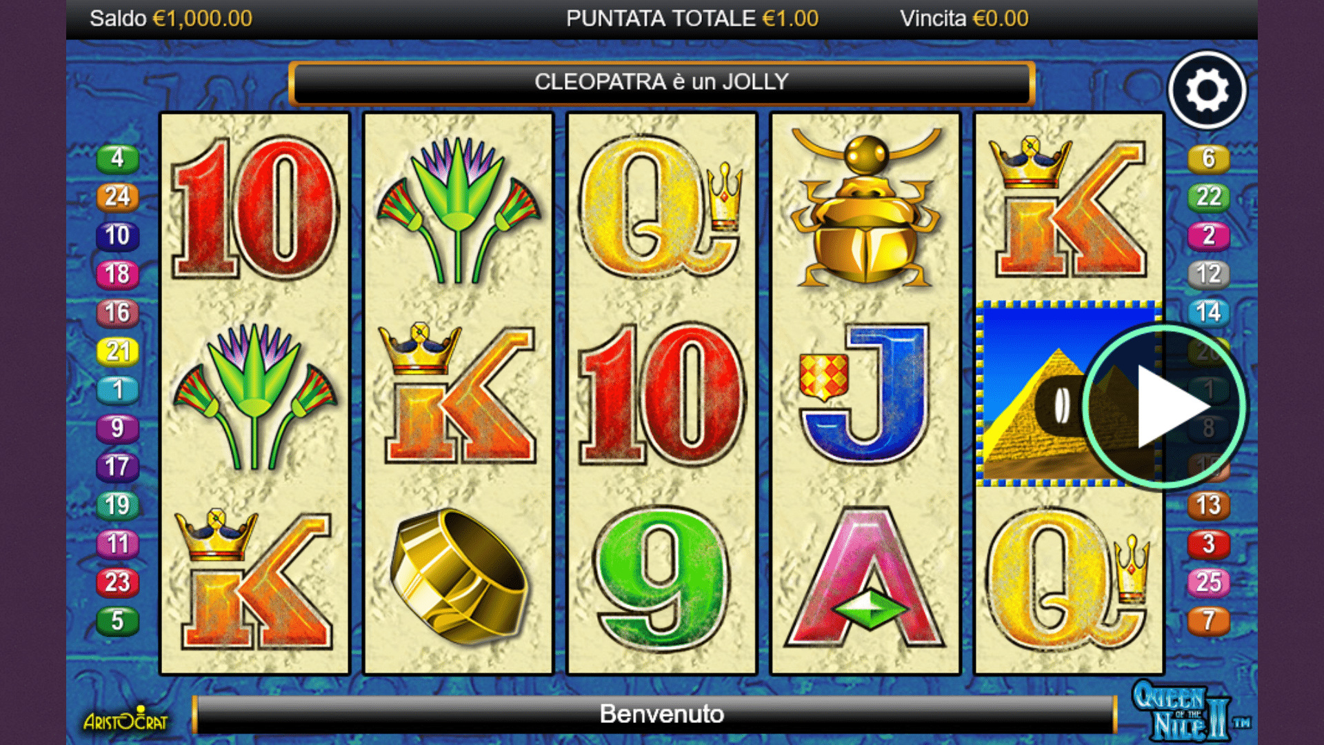 Slot Queen of the Nile 2
