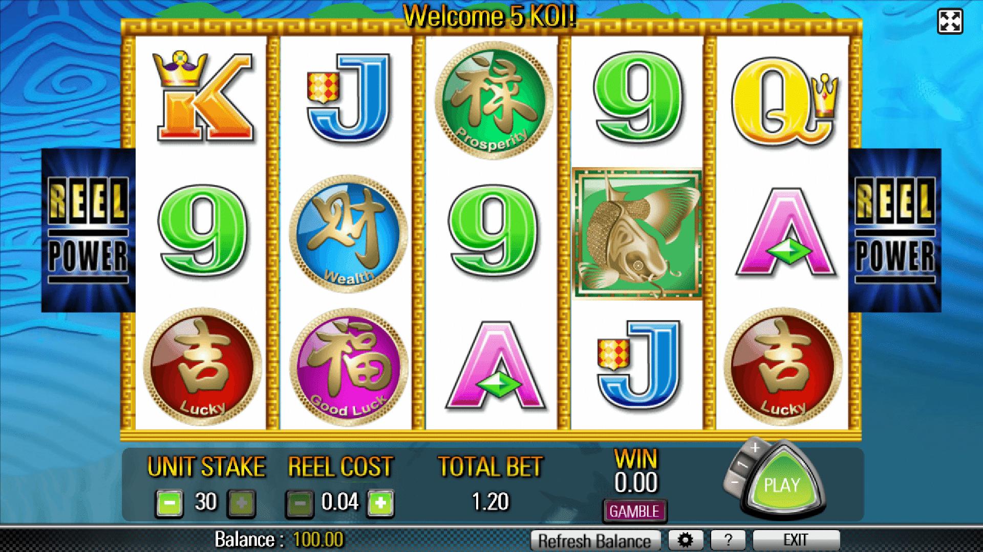 Slot 5 Koi
