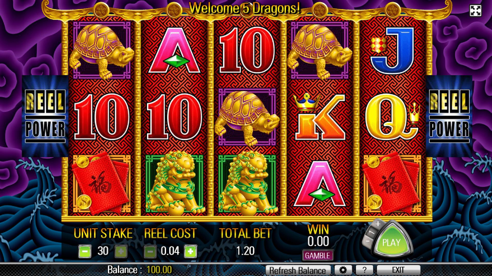 Slot 5 Dragons