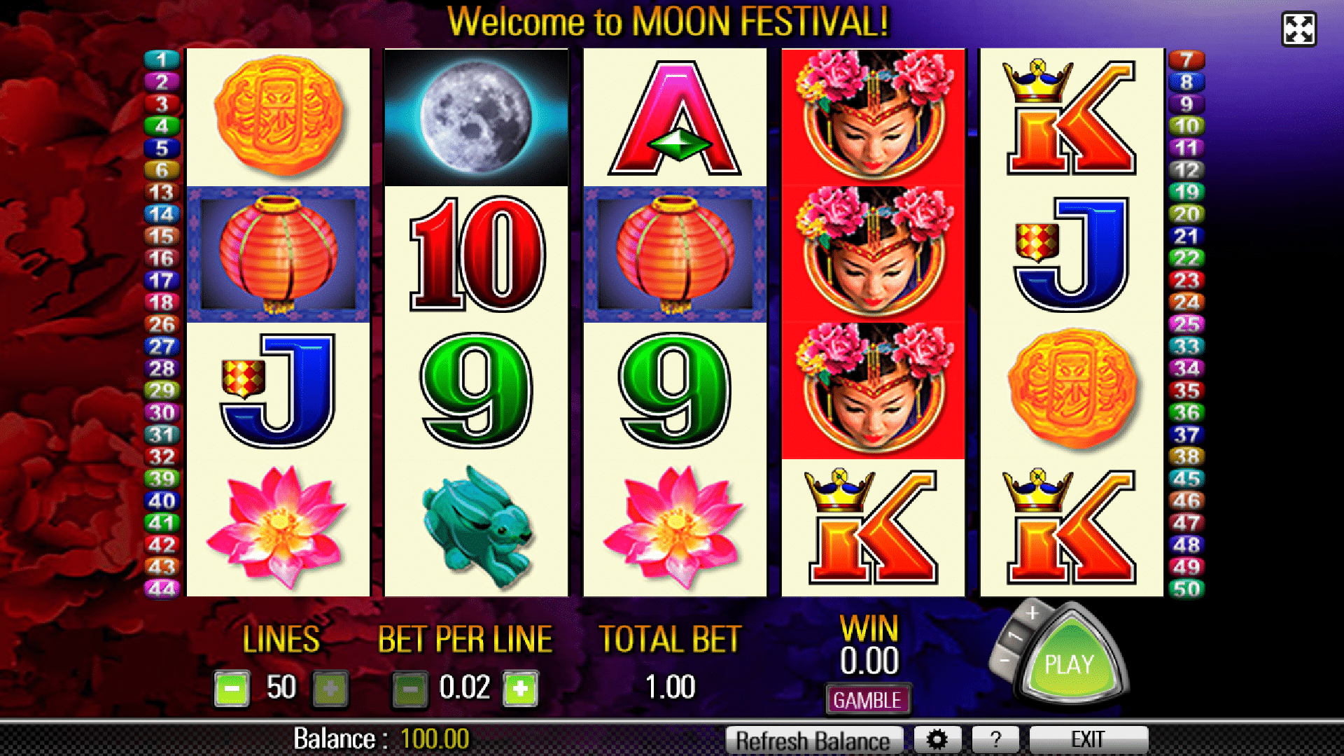 Slot Moon Festival
