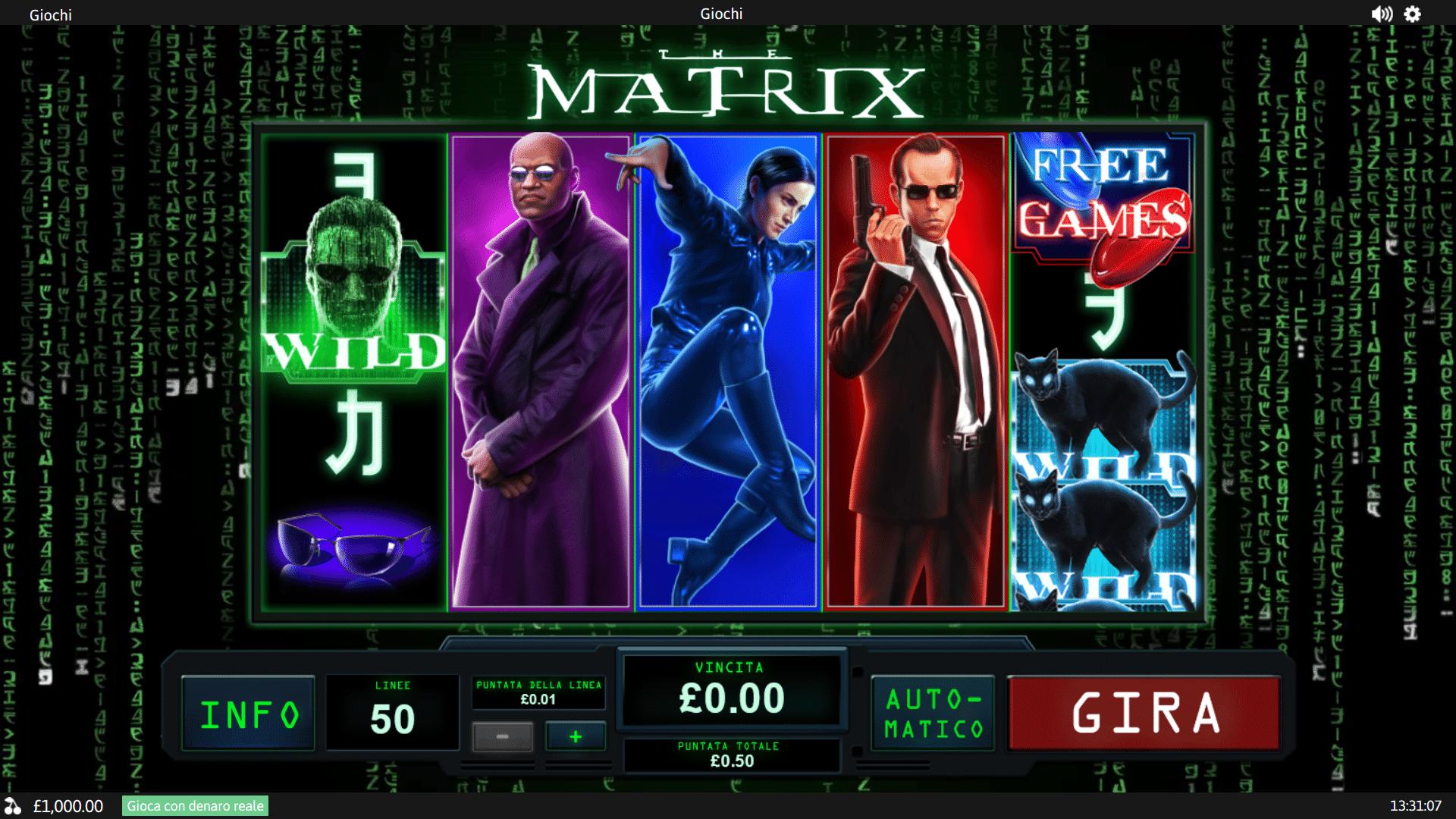 Slot The Matrix
