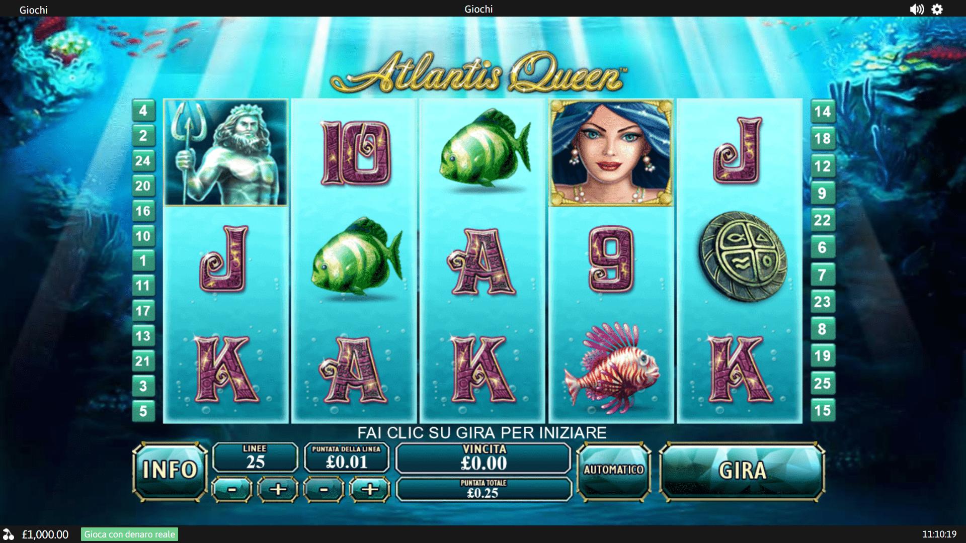 Slot Atlantis Queen