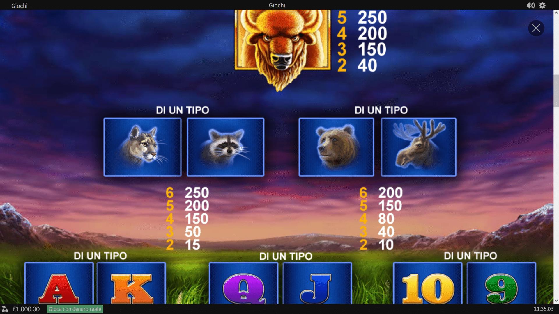 Pagamenti Slot gratis Buffalo Blitz