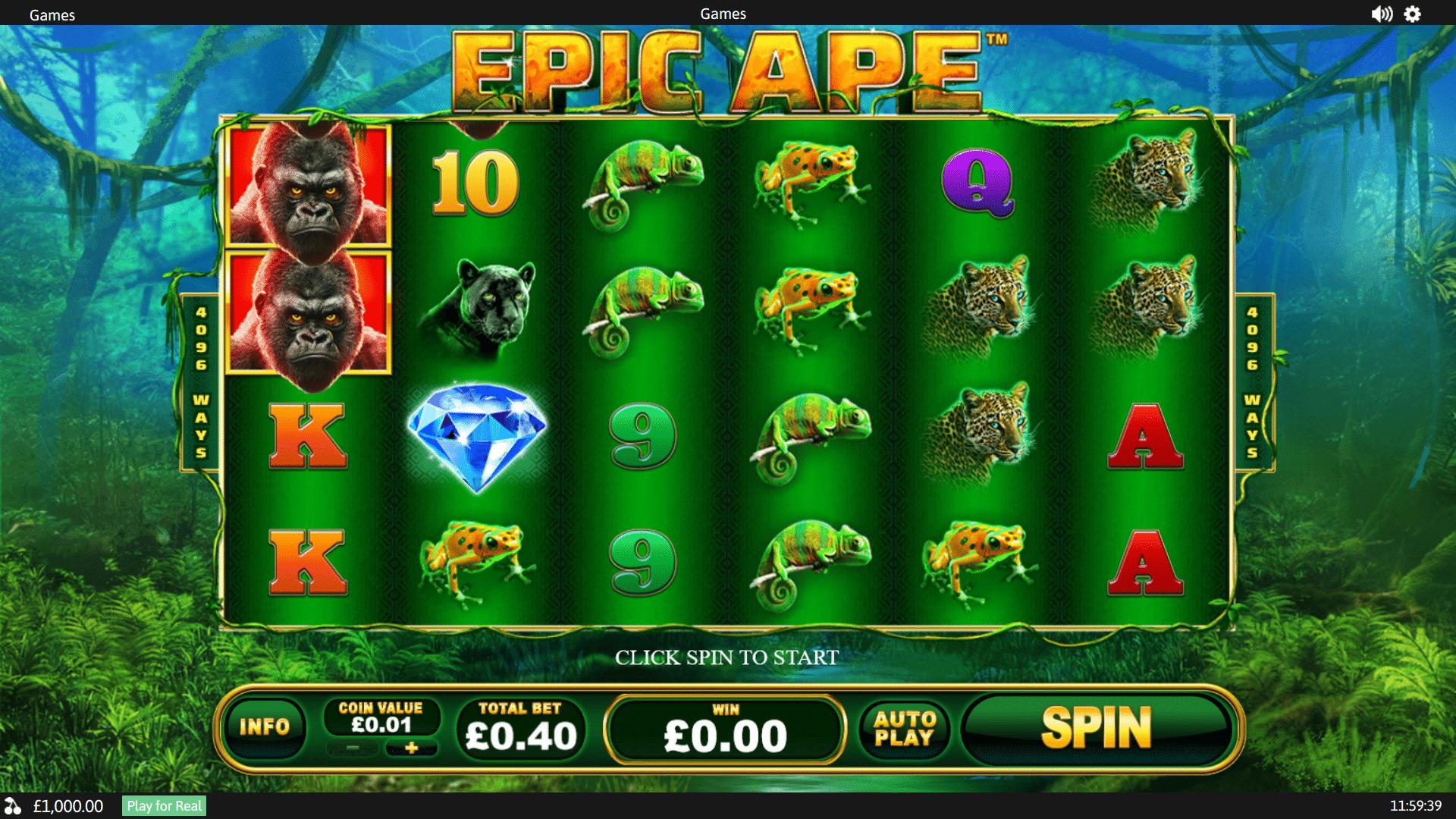 Slot Epic Ape