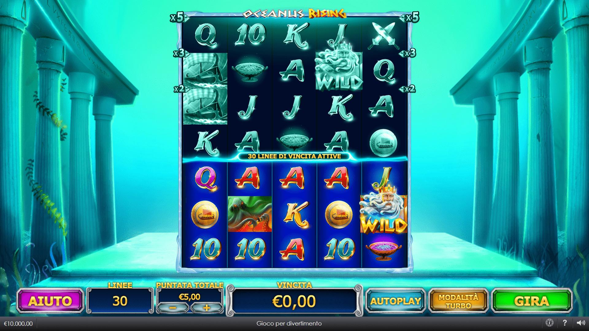Slot Oceanus Rising
