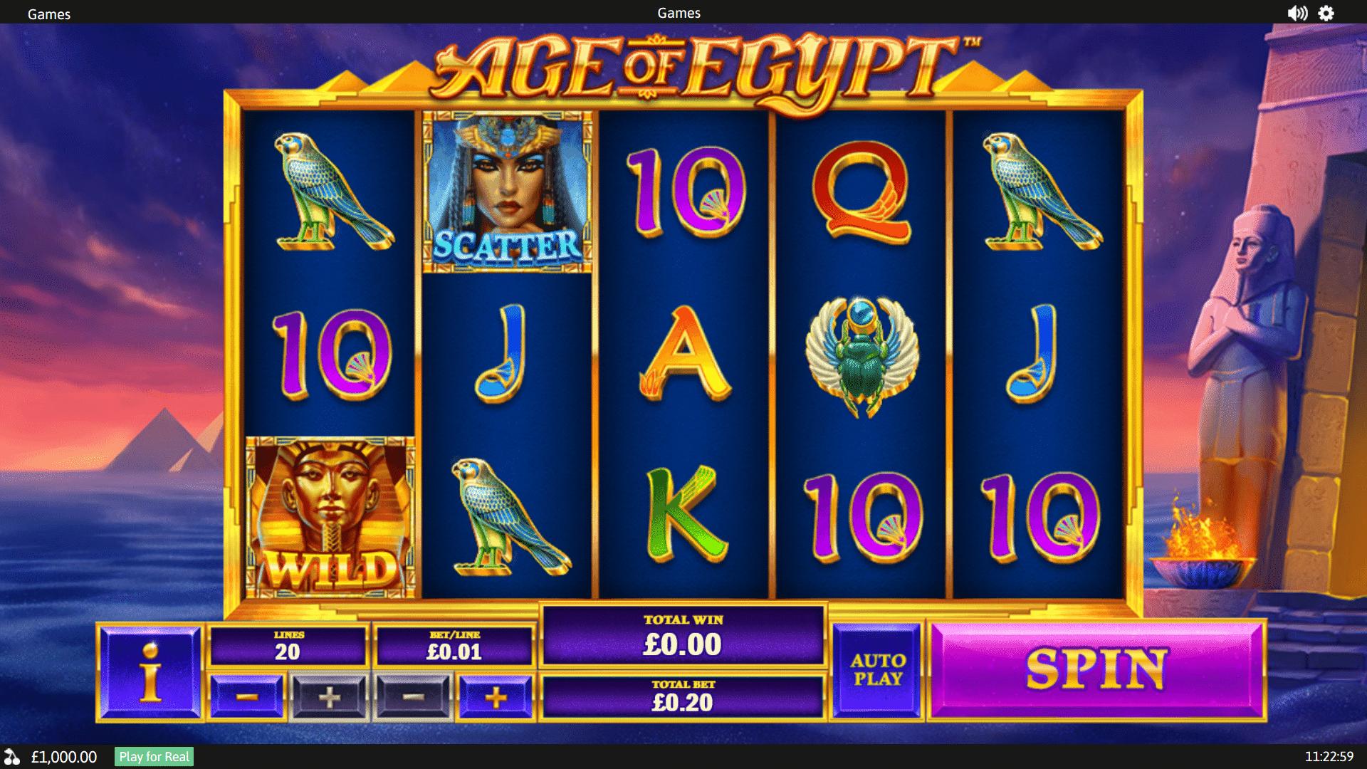 Slot Age of Egypt