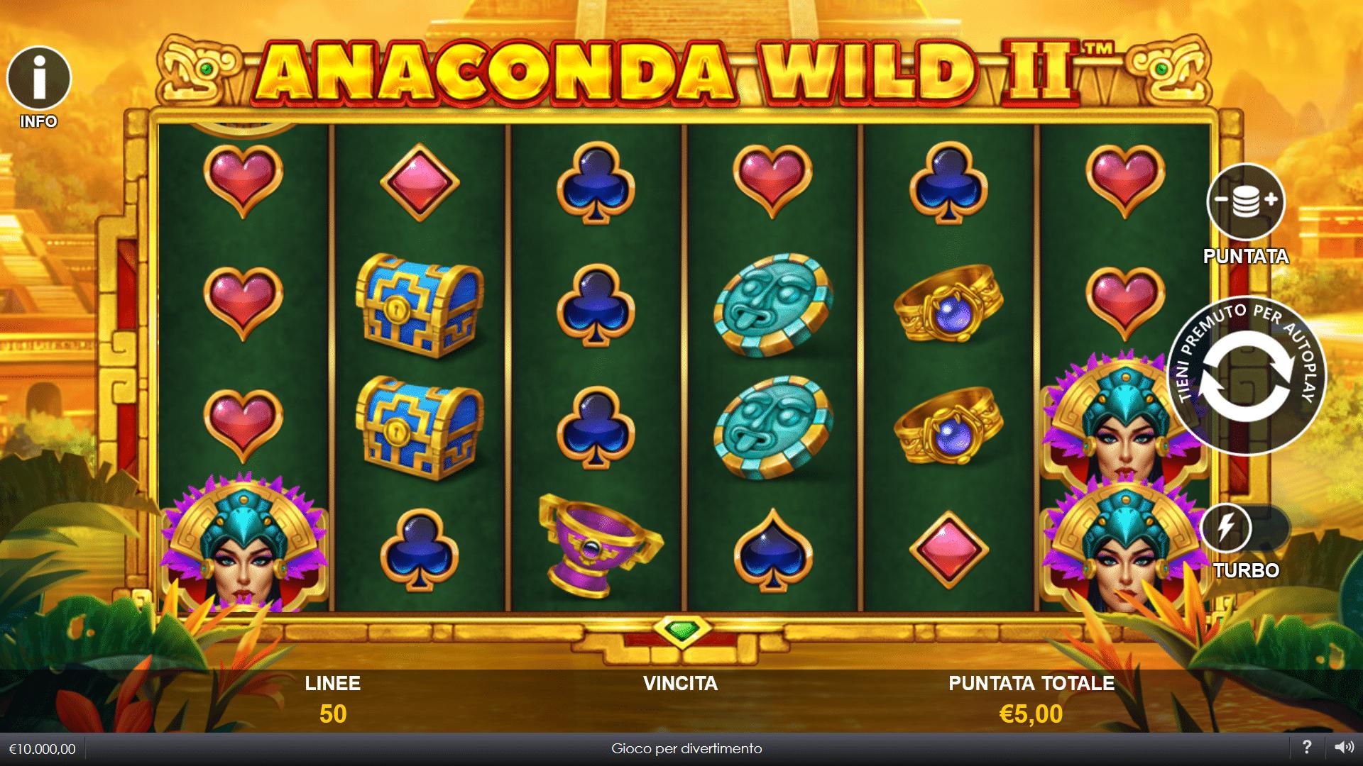 Slot Anaconda Wild II
