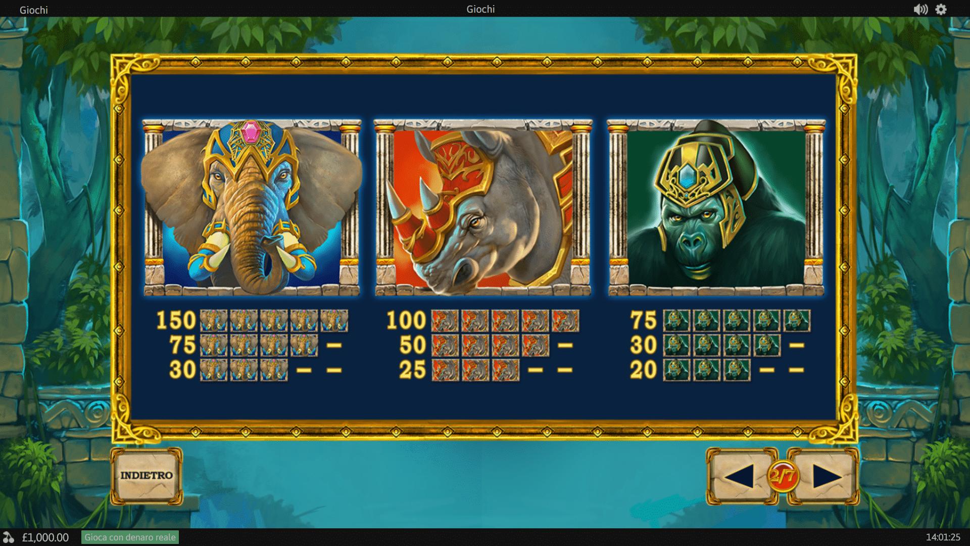 Pagamenti Slot gratis Jungle Giants