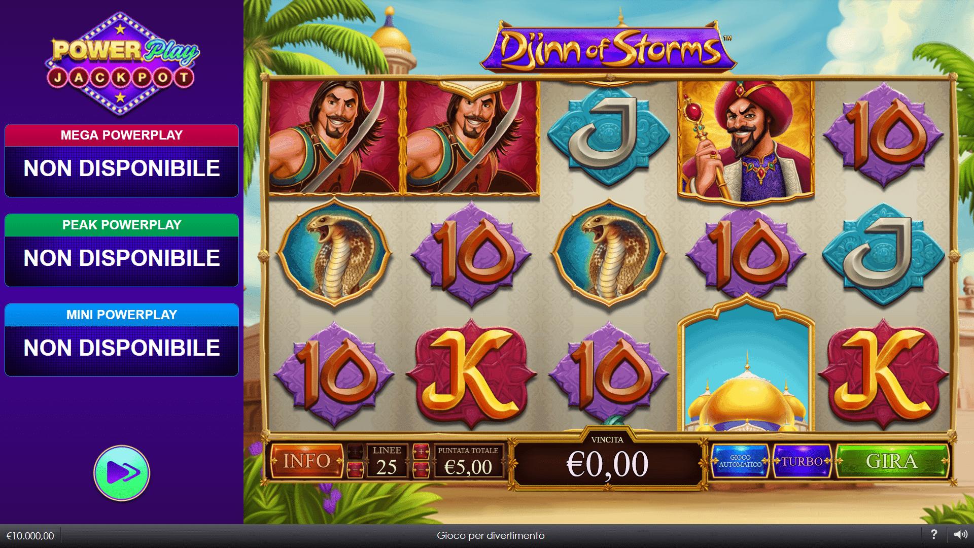 Slot Djinn of Storms