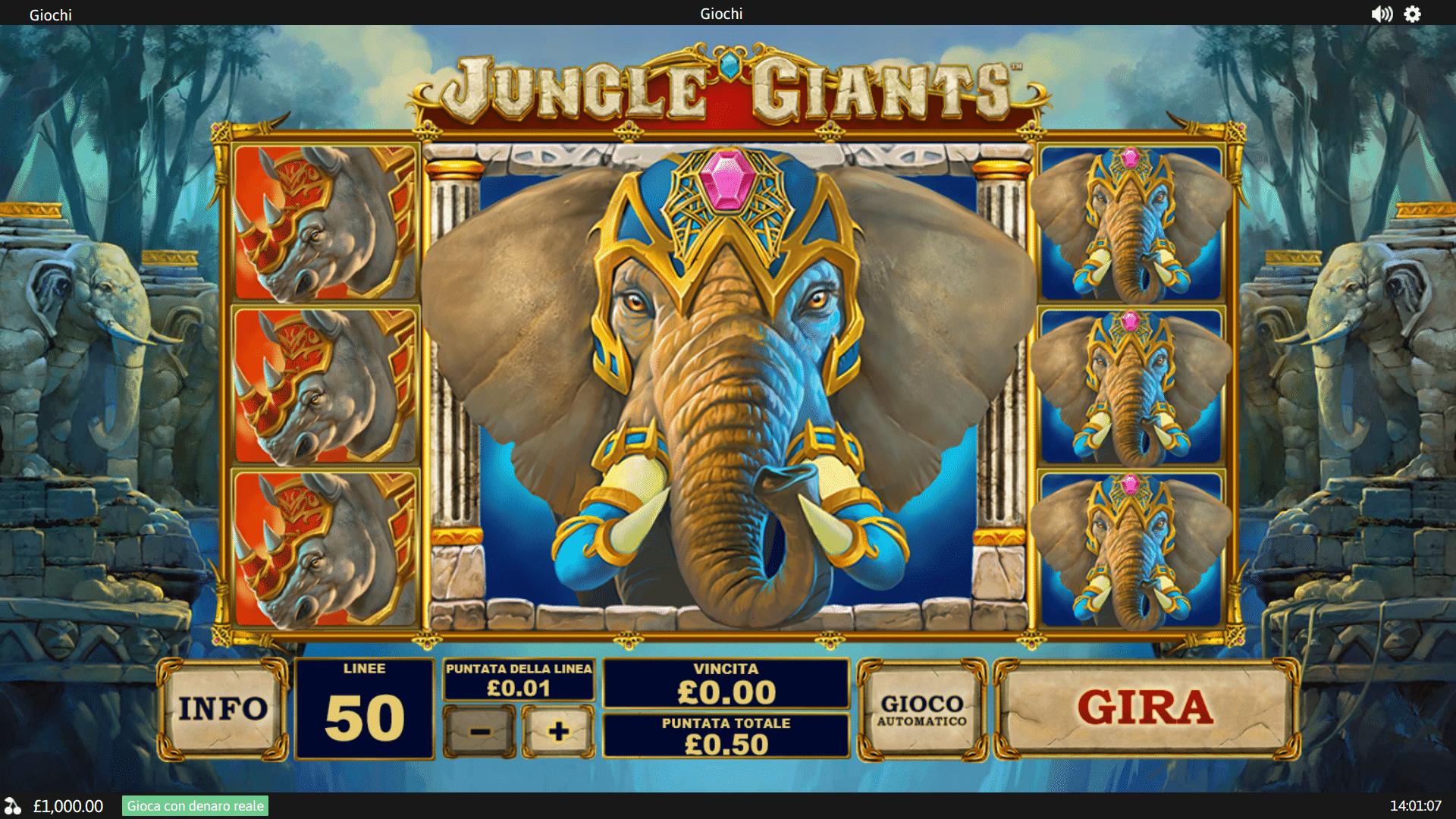 Slot Jungle Giants