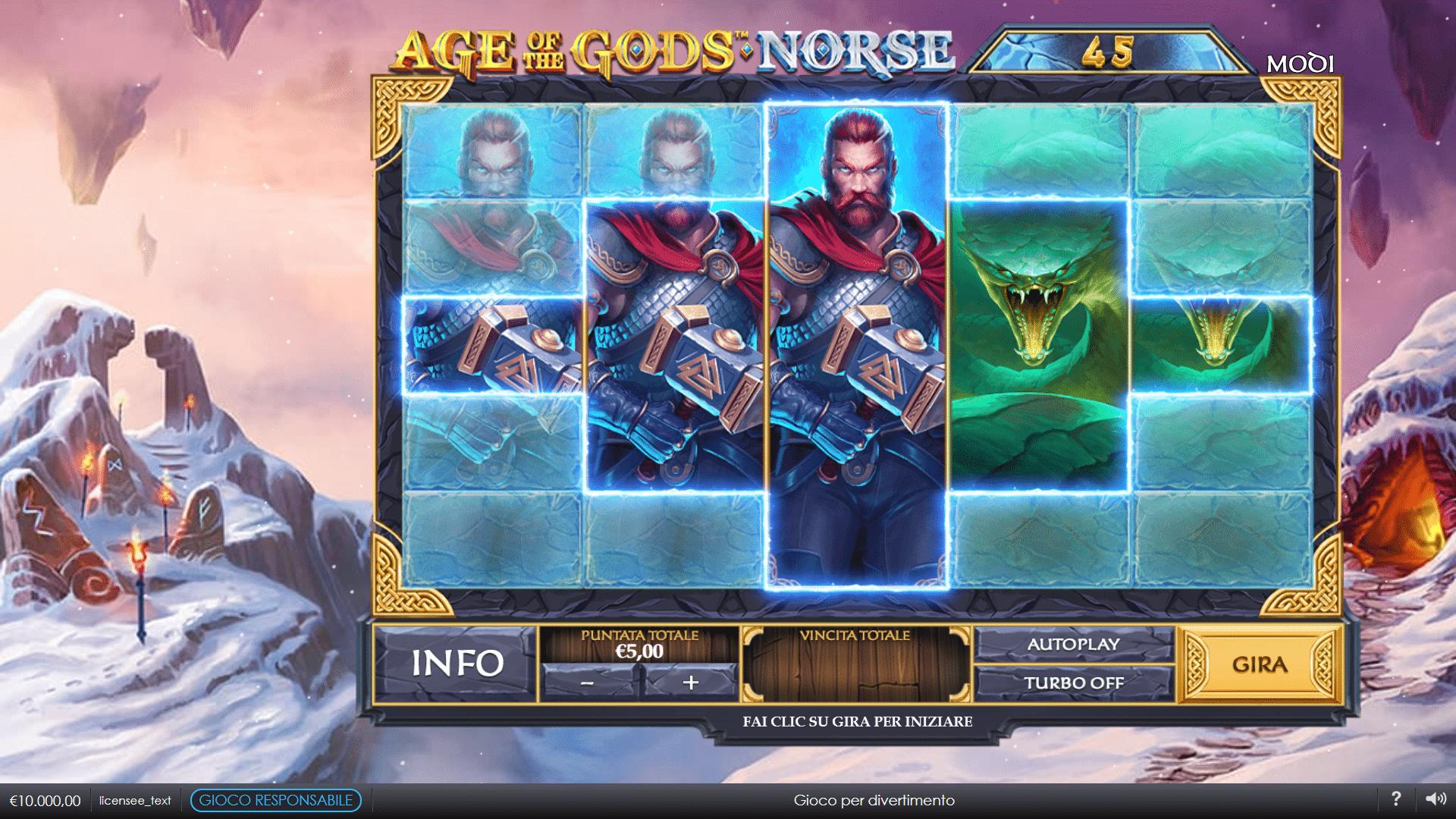 Slot Age of the Gods Norse: Ways of Thunder