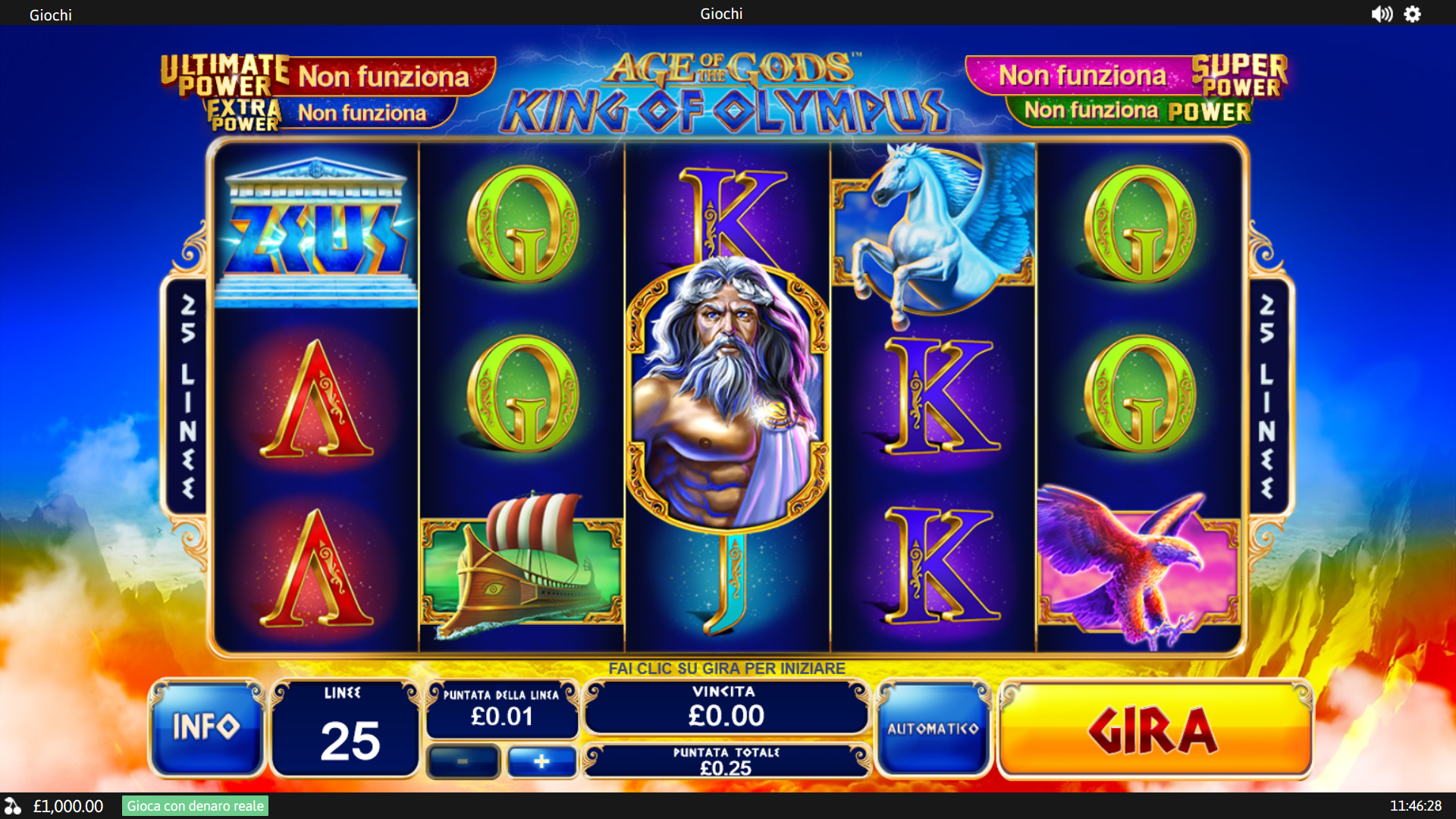 Slot Age of the Gods King of Olympus