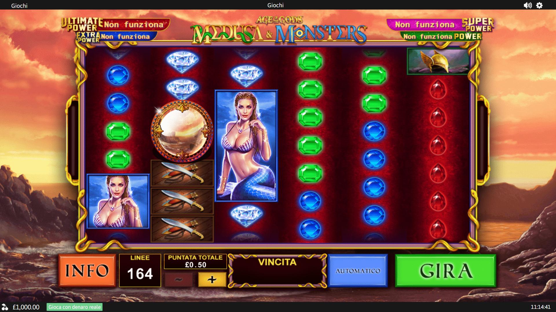 Slot Age of the Gods Medusa & Monsters