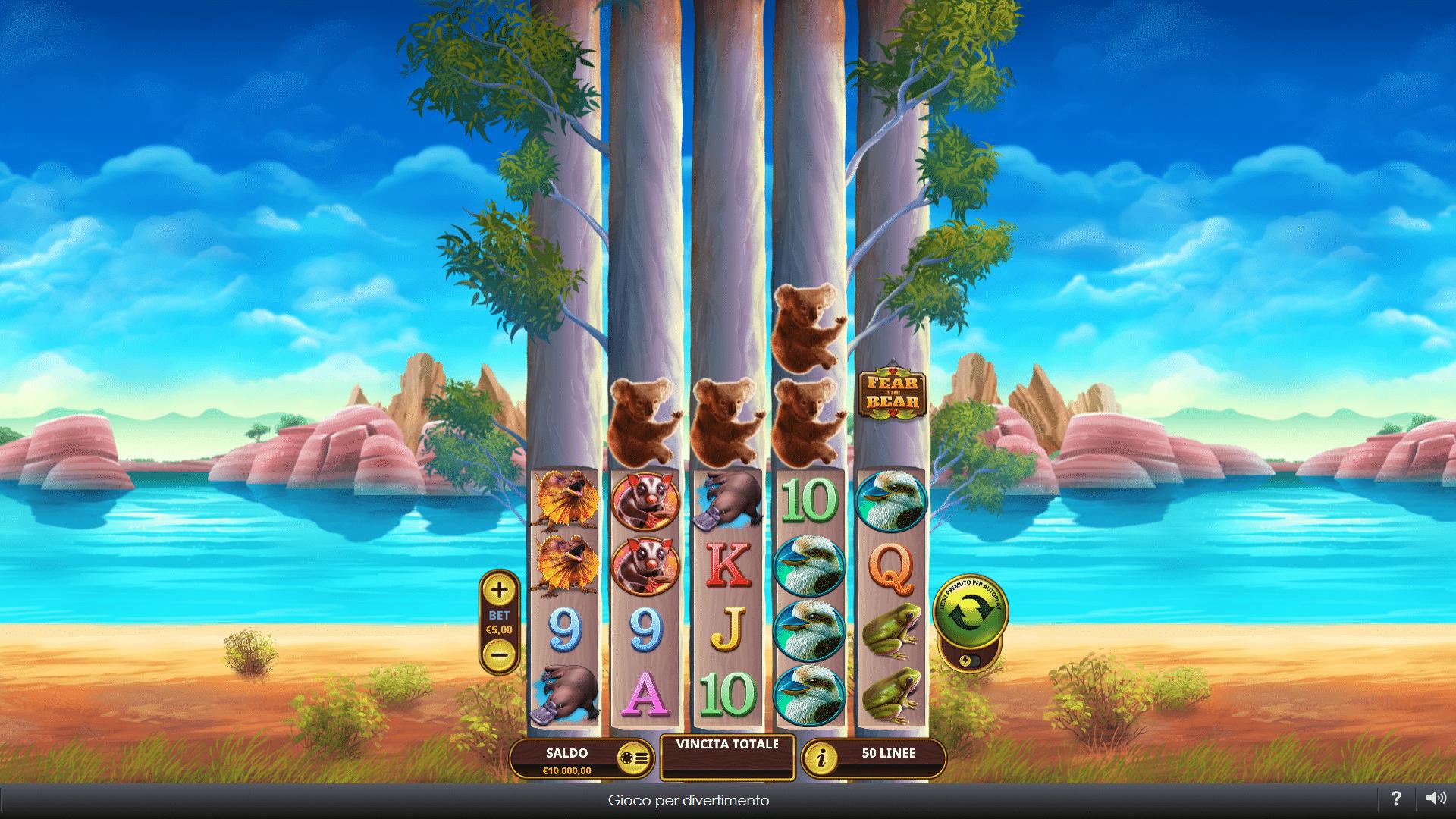 Slot Fear The Bear