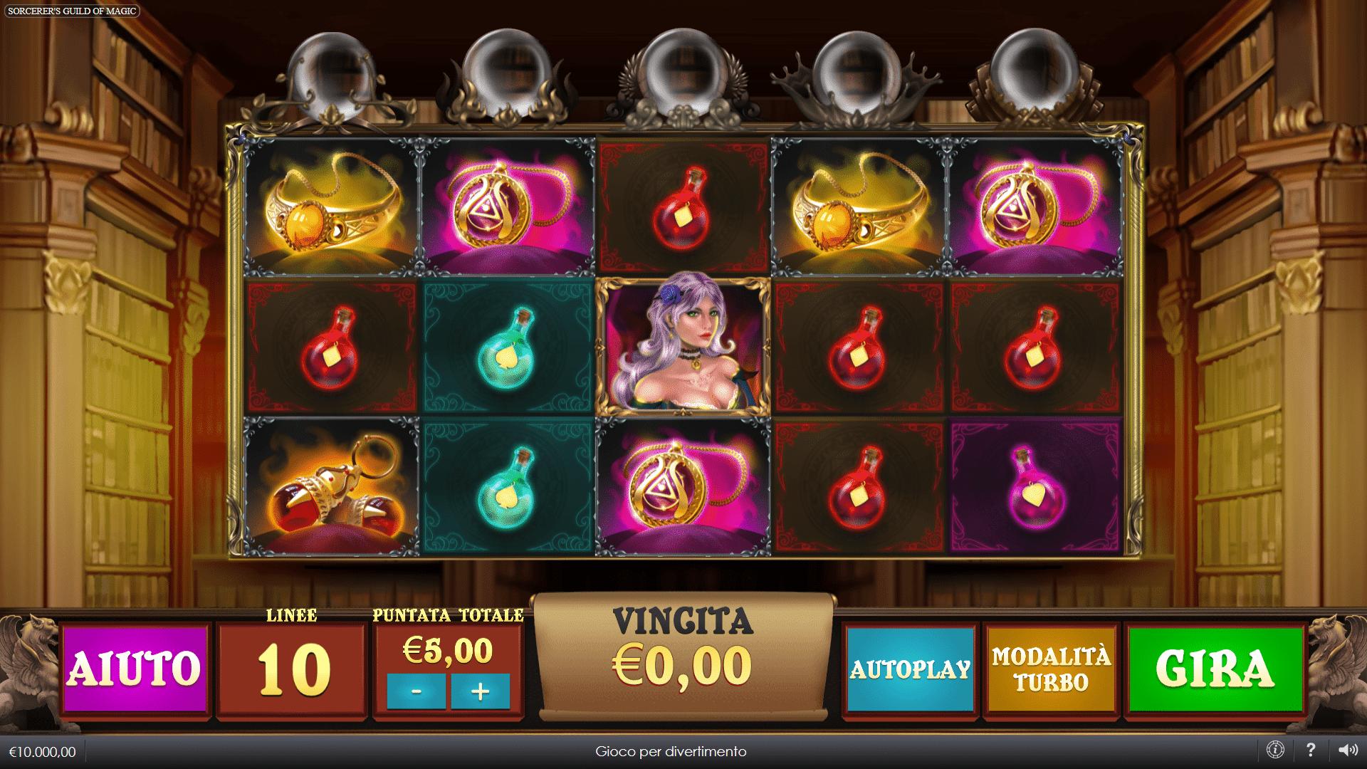 Slot Sorcerers Guild of Magic