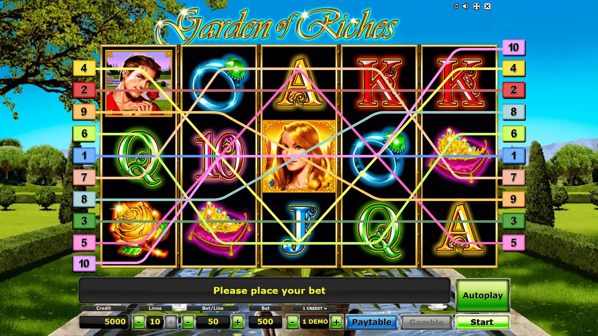 Slot Garden of Riches