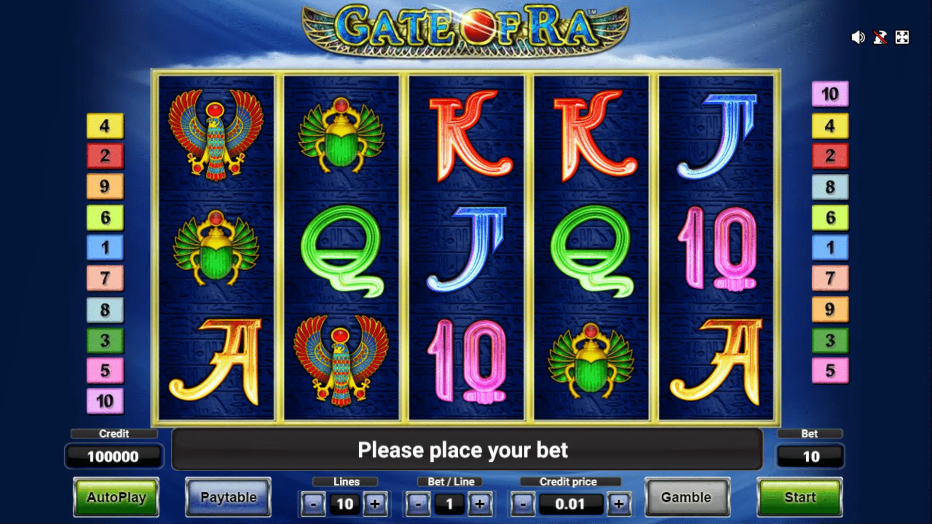 Slot Gate Of Ra