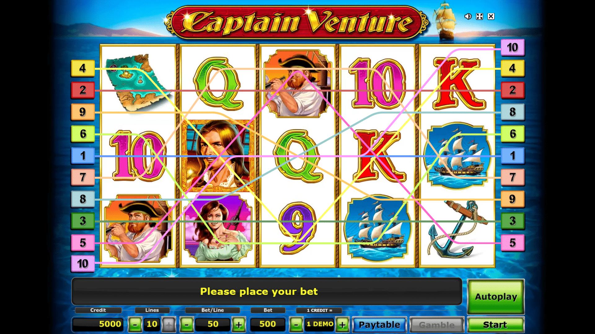 Slot Captain Venture