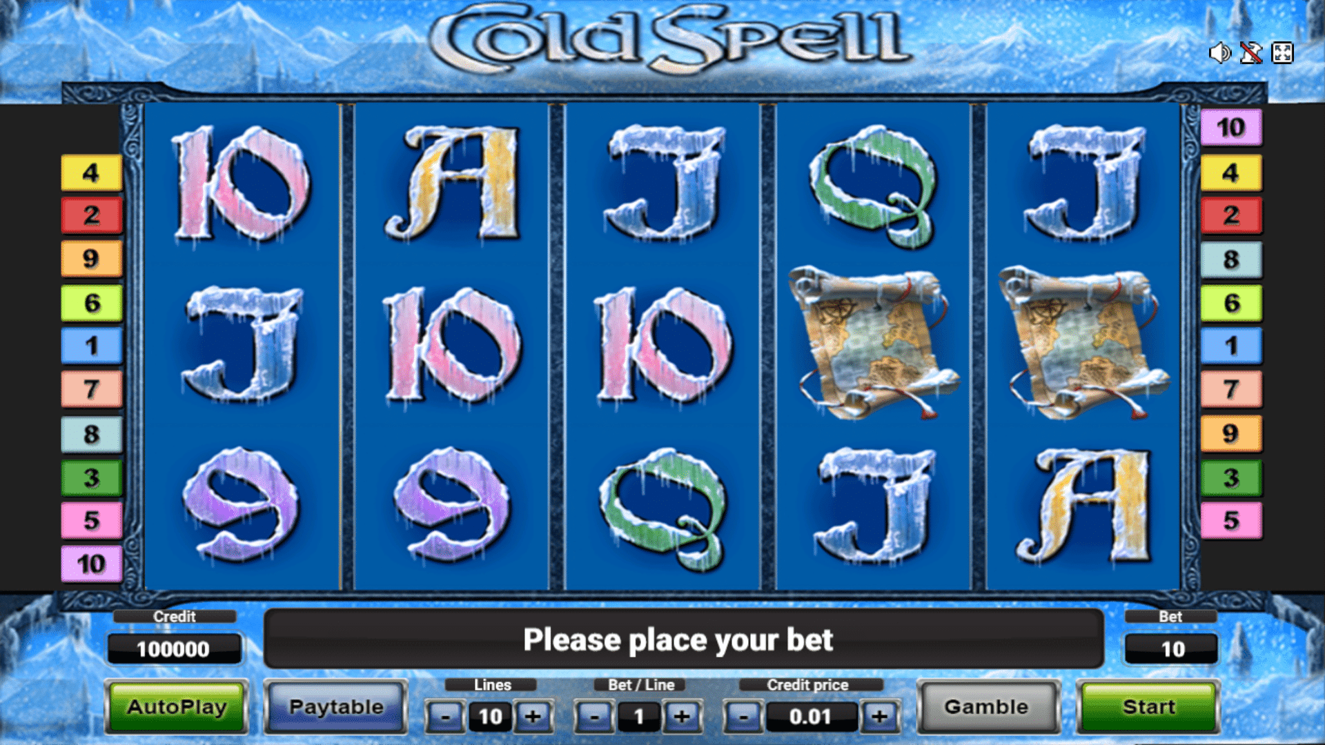 Slot Cold Spell